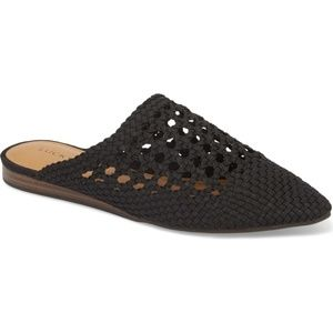 LUCKY BRAND Black Baylint Flat Mule - NEW